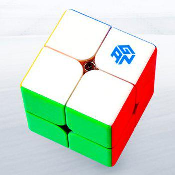GAN 249 V2 Magnetic Rubik's Cube Specialty Toys Game Edition Smooth Speed Screw Toy Set - multicolor
