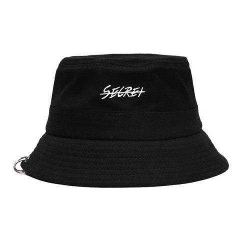 Cotton Fashion Casual Personality Fisherman Hat - BLACK