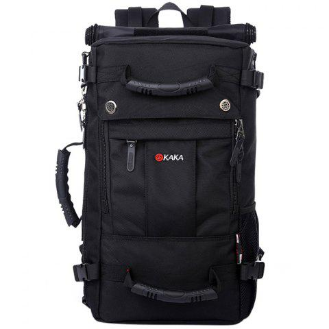 KAKA Large Capacity Wear-resistant Durable Backpack - BLACK