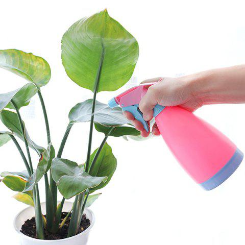 Multipurpose Hand-pressed Sprinkler Flowers Watering Pot Spray Bottle Garden Tool - HOT PINK