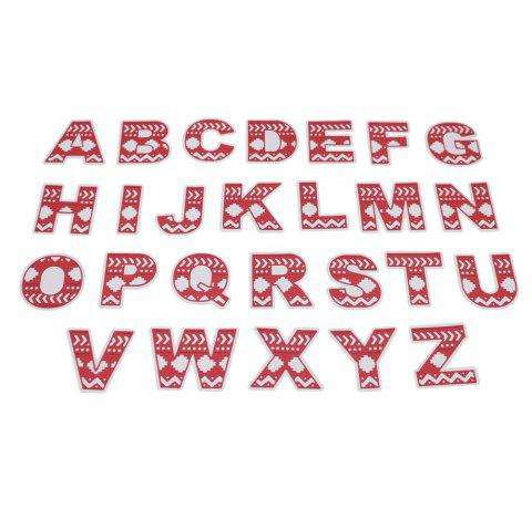 English Capital Letters DIY Embossed Cutting Die - SILVER