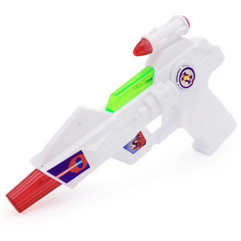 Octave Space Gun Toy with Light Music Model for Children - WHITE