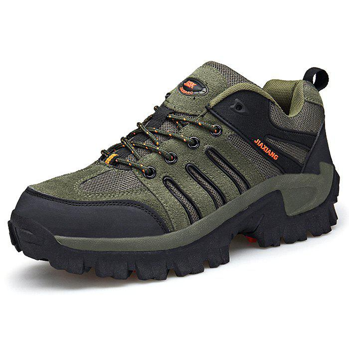Fashion Breathable Anti-slip Shock-absorbing Sports Shoes for Men - ARMY GREEN 45