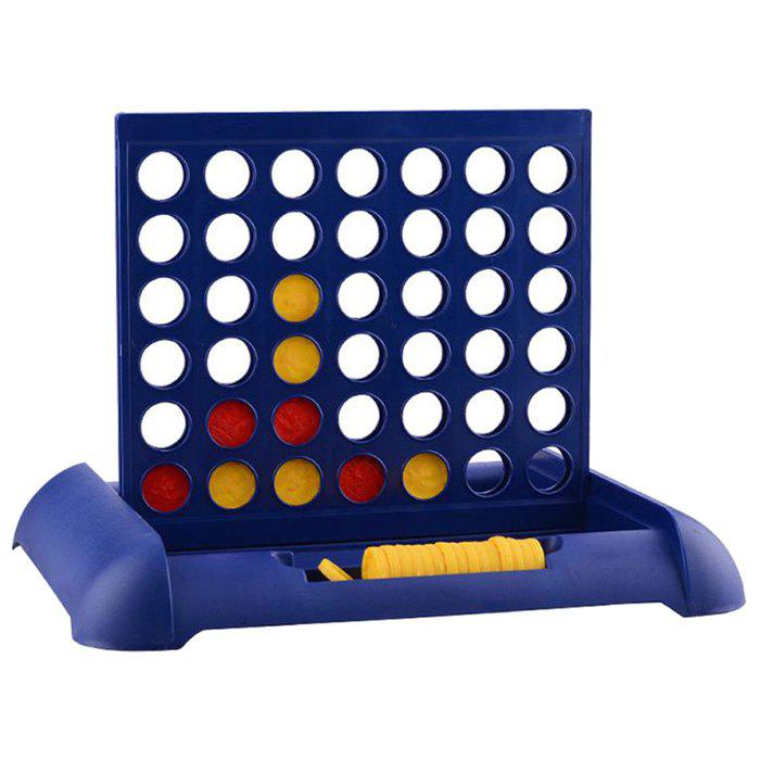 Solid Puzzle Connect Four Toy for Indoors Outdoors - COBALT BLUE