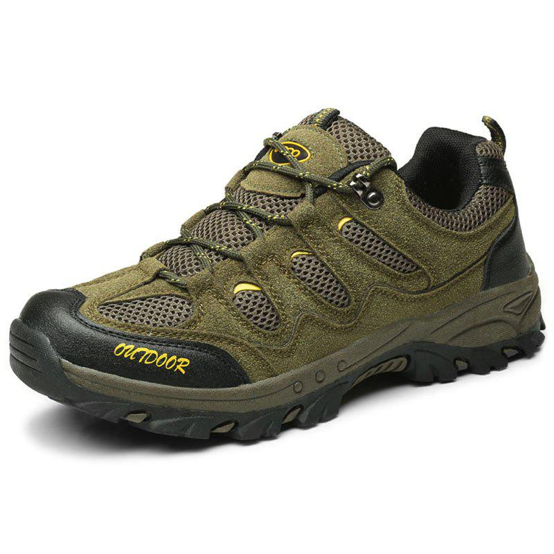 Fashion Outdoor Breathable Anti-slip Durable Sports Shoes for Men - HAZEL GREEN 40
