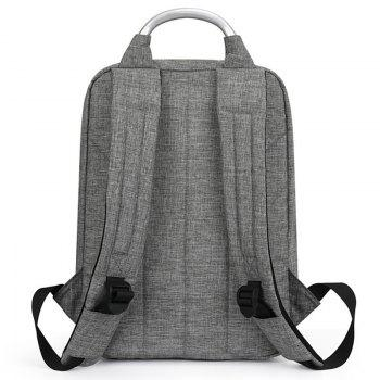 INOXTO 8052 Polyester Backpack - GRAY CLOUD