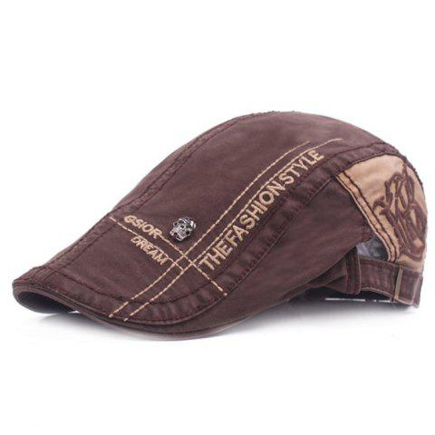 High-quality Beret Outdoor Travel Sunshade Hat - COFFEE