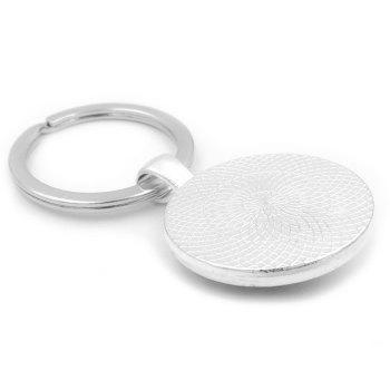 Gamepad Style Key Chain Collection Gift Key Ring - ASH GRAY