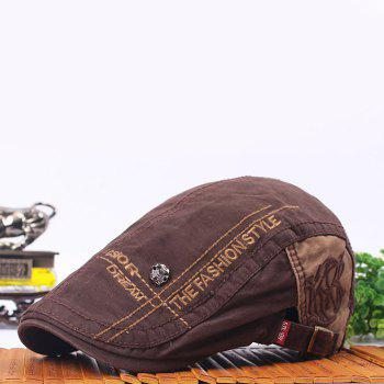 High-quality Beret Outdoor Travel Sunshade Hat - BLACK