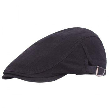 Outdoor Casual Breathable Cotton Visor Forward Hat Beret
