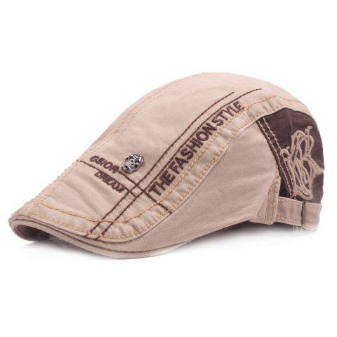 High-quality Beret Outdoor Travel Sunshade Hat - CAMEL BROWN