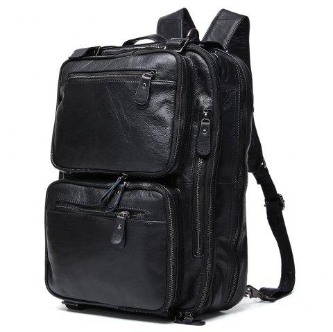 2019 JOYIR Outdoor Multi-functional Leather Backpack for Men In ... 20843391667b9