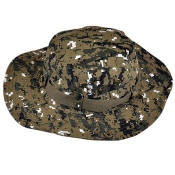 Outdoor Casual Breathable Hat Cotton Fisherman Cap - multicolor D