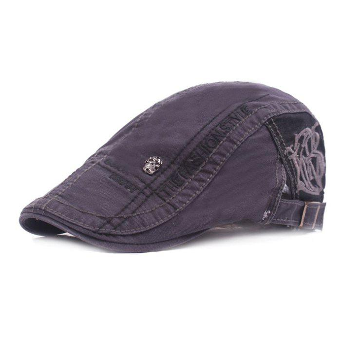 High-quality Beret Outdoor Travel Sunshade Hat - GRAY