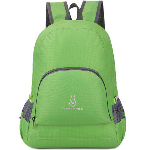 FLAMEHORSE Waterproof Backpack Hiking Bag Outdoor Sports - GREEN