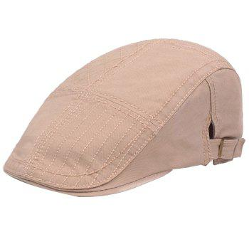 Casual Visor Forward Hat Cotton Breathable Outdoor Cap Beret - ARMY GREEN