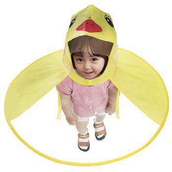 Creative Little Yellow Duck Raincoat Toy Great Gift for Children - YELLOW S