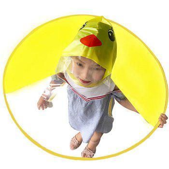 Creative Little Yellow Duck Raincoat Toy Great Gift for Children - YELLOW M