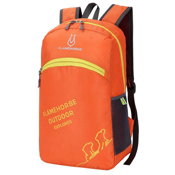 FLAMEHORSE K39 Nylon Backpack - ORANGE