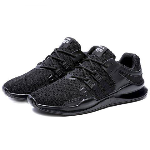 Wear-resistant Anti-slip Breathable Outdoor Sports Shoes for Men - BLACK 42