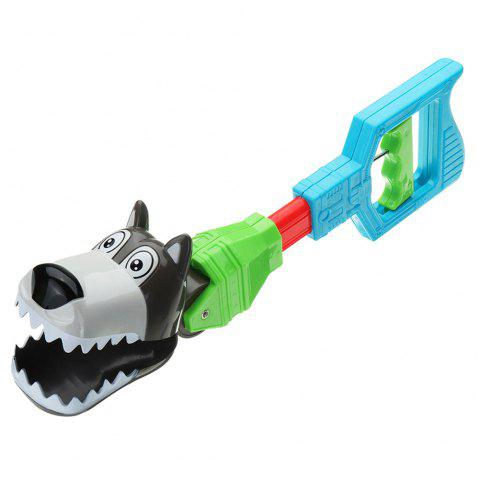 Children Creative Retractable Tricky Toy Mechanical Arm - multicolor