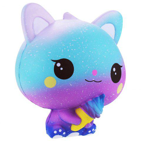 VLAMPO Cute PU Slow Rebound Squishy Relieve Stress Toy - multicolor B
