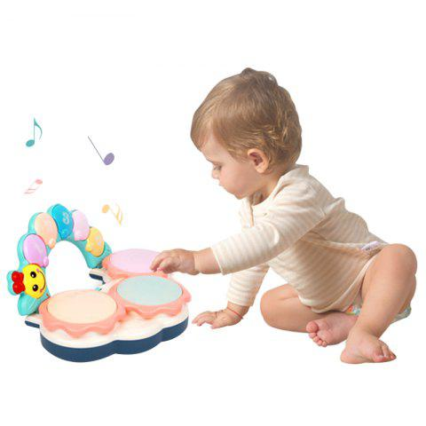 Beiens B501 Educational Hand Beat Drum Toy for Kid - multicolor A
