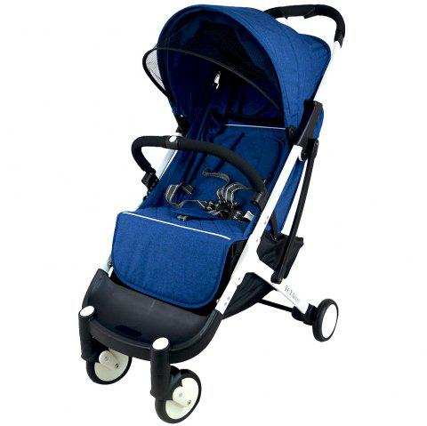 YOYAplus A09 Foldable Baby Stroller for 0 - 36 Month Kid - WINDOWS BLUE