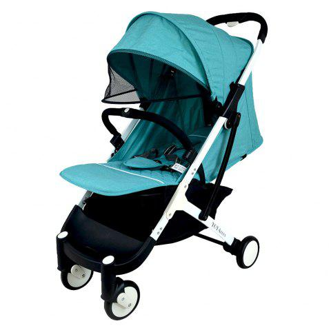YOYAplus A09 Foldable Baby Stroller for 0 - 36 Month Kid - MEDIUM TURQUOISE