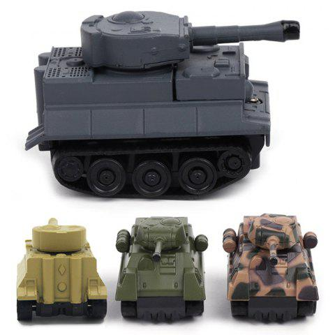 Cartoon Magic Inductive Tank Toy for Children - multicolor