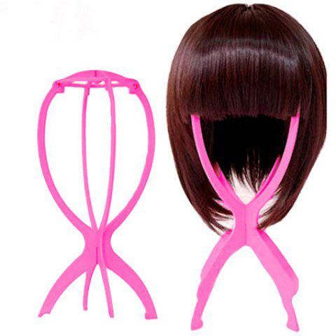 Wig Stand Supporter Special Nursing Tool Accessory - HOT PINK