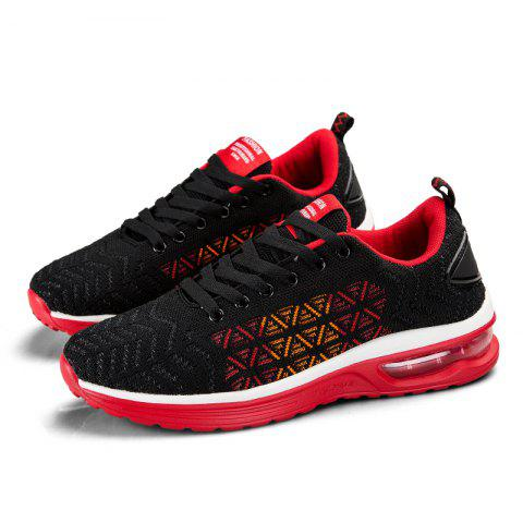 Men Outdoor Casual Sports Shoes - CHESTNUT RED 37
