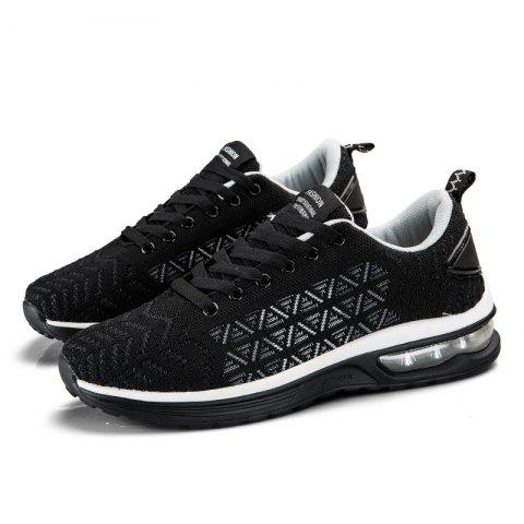 Men Outdoor Casual Sports Shoes - WHITE 37