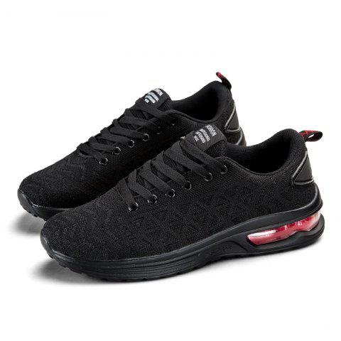 Men Outdoor Casual Sports Shoes - BLACK 38