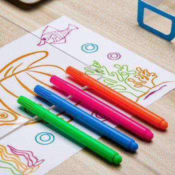 3D Flashing Drawing Board Writing Graffiti Sketchpad for Children - TRANSPARENT
