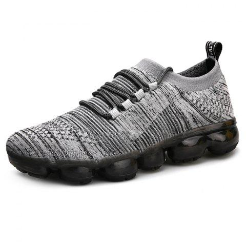 Fashion Outdoor Breathable Anti-slip Sports Sneakers for Men - DARK GRAY 39