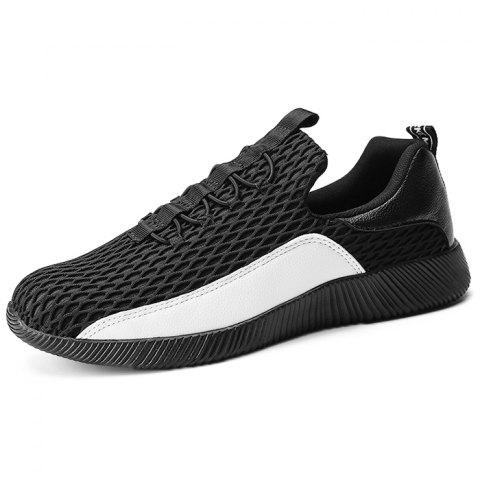Outdoor Breathable Anti-slip Durable Sports Sneakers for Men - WHITE 44
