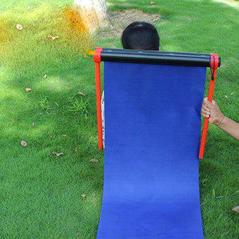 Multifunctional Portable Folding Deck Chair Mat for Outdoors - BLUE
