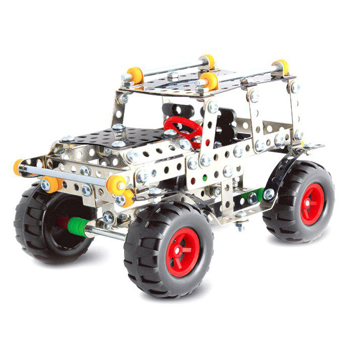 816C - 6 DIY 3D Metal Remote-controlled SUVs Assembled Toys for Puzzle 277140801