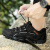 Men Fashion Outdoor Sports Hiking Shoes - BLACK 40