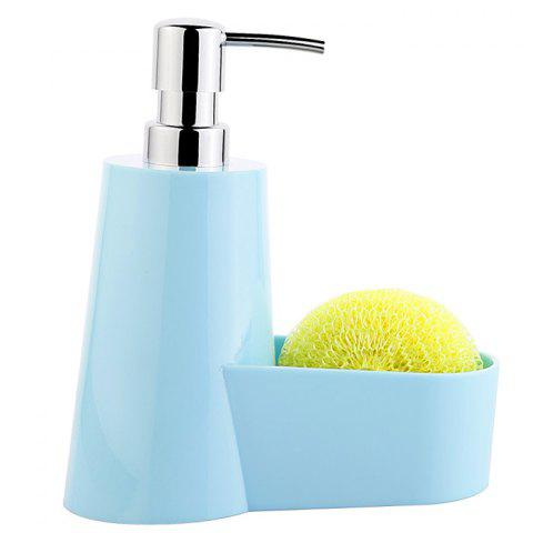 The Hotel Bathroom Home Hand Washing Soap Bottle - BLUE