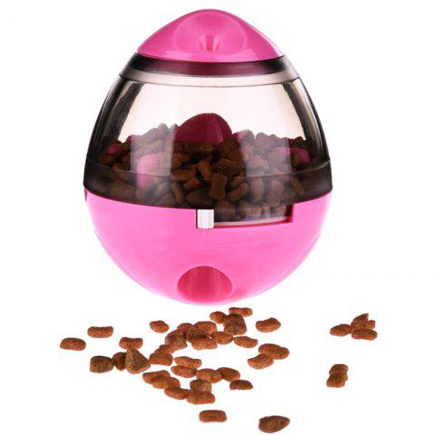 Funny Tumbler Type Feeder Dog Toy - PINK