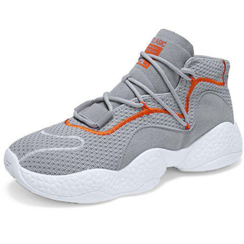 Fashion Casual Lightweight Sports Shoes for Man - GRAY CLOUD 41