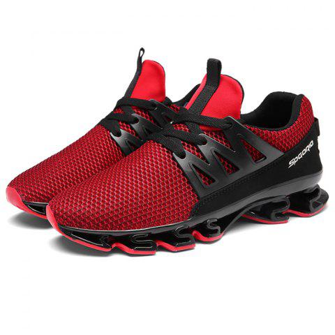 Trendy Comfortable Anti-slip Casual Sports Shoes for Men - CHESTNUT RED 44