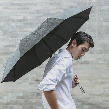 90FUN Practical Waterproof Rainy Sunny Umbrella from Xiaomi Youpin - BLACK