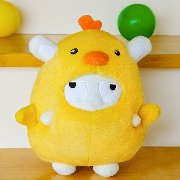 Lovely Chick Shape Throw Pillow for Home Decoration from Xiaomi Youpin - SUN YELLOW