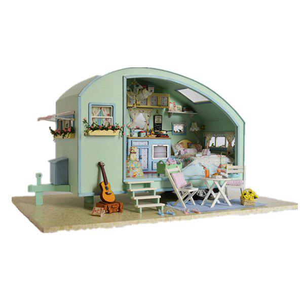 DIY Jigsaw Puzzle Hand-assembled Small Room 277446701