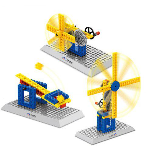 WANGE Mechanical Engineering Building Block Toy Set  for Entertainment - multicolor B