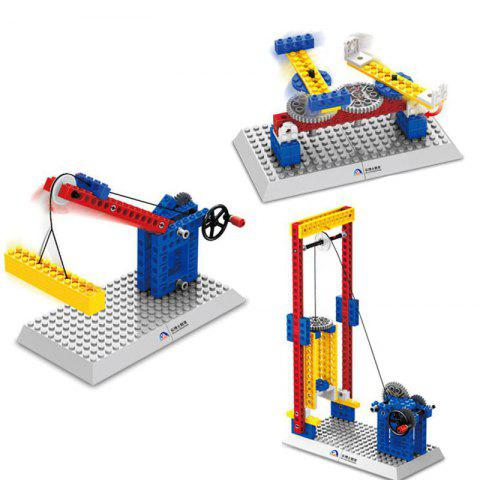 WANGE Mechanical Engineering Building Block Toy Set  for Entertainment - multicolor D