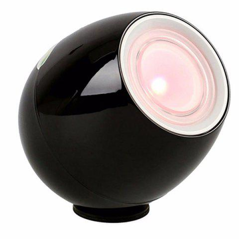 Creative Interior Touch Controlled Changing Color Lamp Colorful LED Mood Light - BLACK